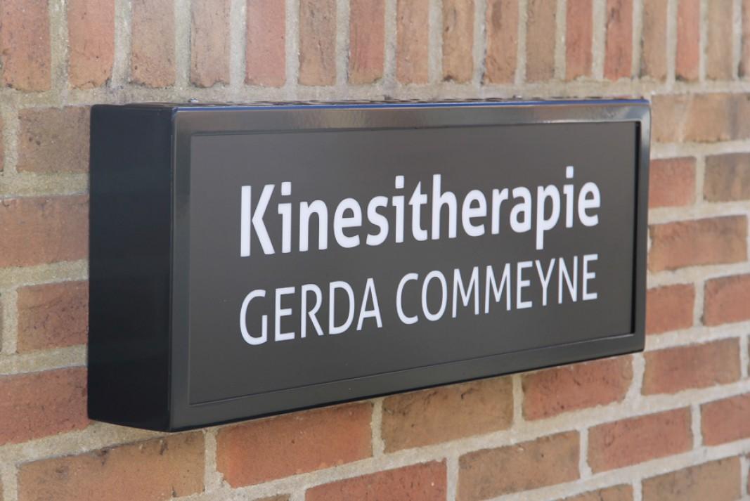 lichtreclame Gerda Commeyne