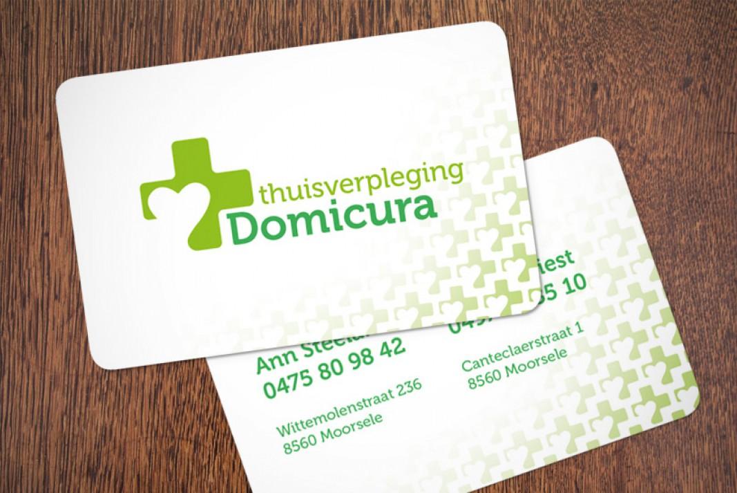 Domicura visitekaartjes