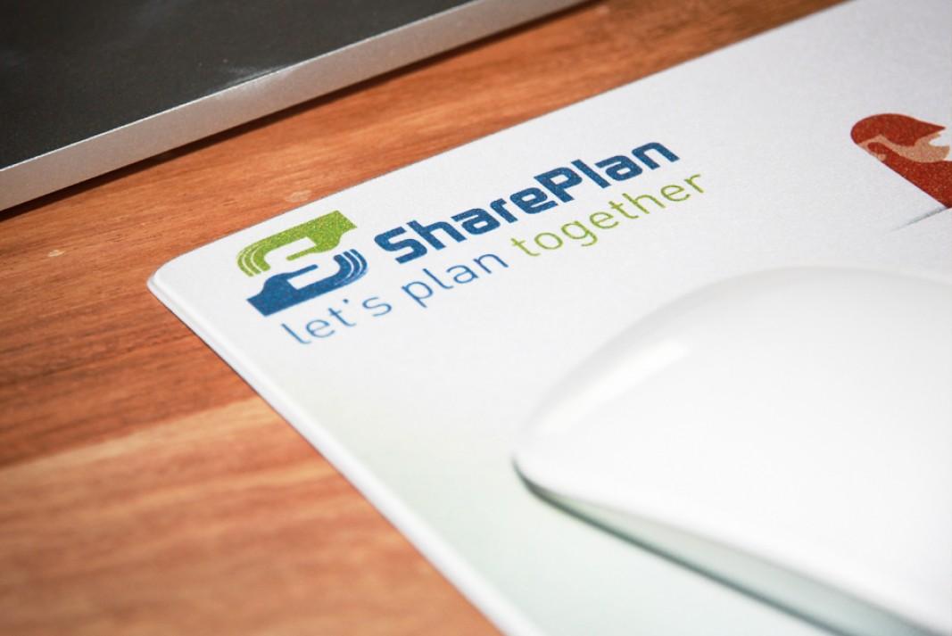 SharePlan mouse pad
