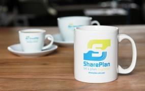 SharePlan kopjes en mok