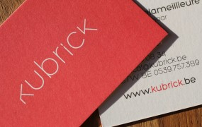 Kubrick businesscards