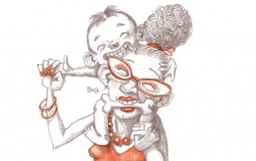 Illustratie Oma Staartjes