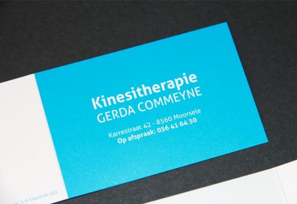 business card Gerda Commeyne