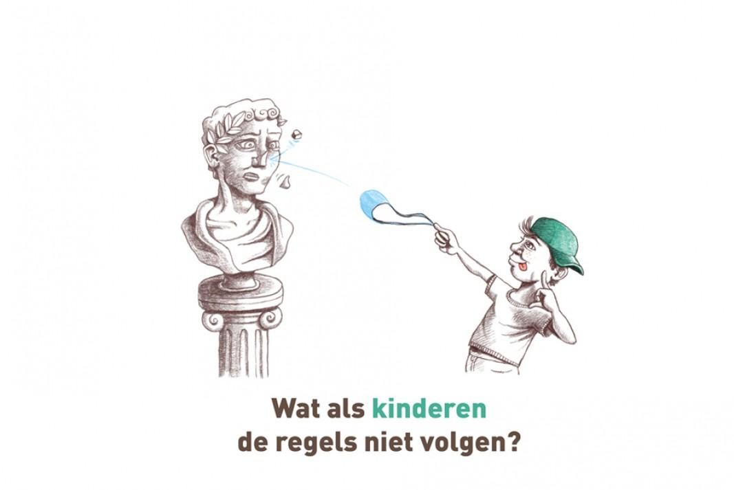 Wat als kinderen de regels niet volgen?